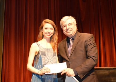 John Bannerman Memorial Bursary Recipient Cora Matheson