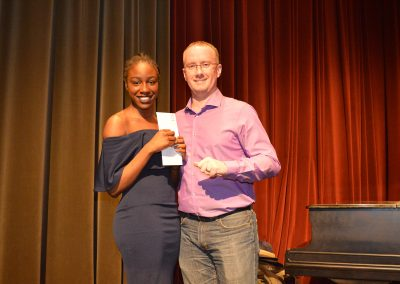 George Brown Seniors' Fellowship Award Recipient Tymika McKenzie-Clunis
