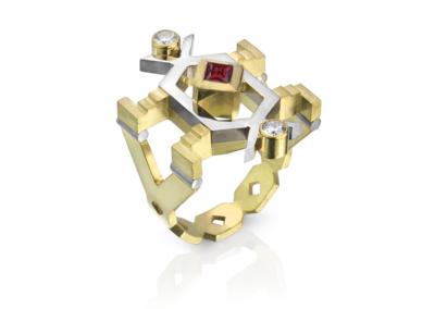 Rana Mireskandari_Gold Ring